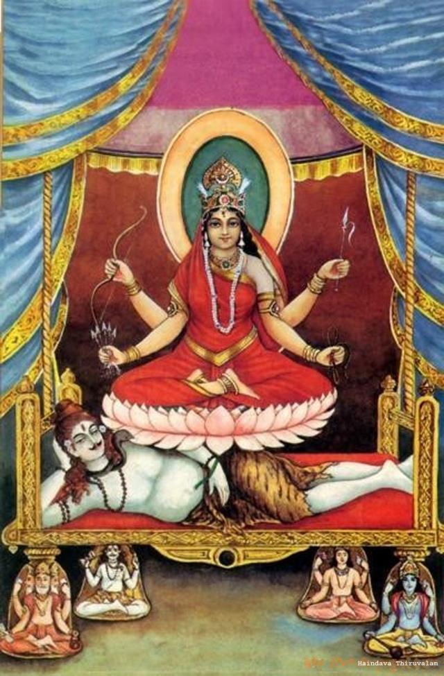 ஸ்ரீ மஹா திரிபுரசுந்தரி